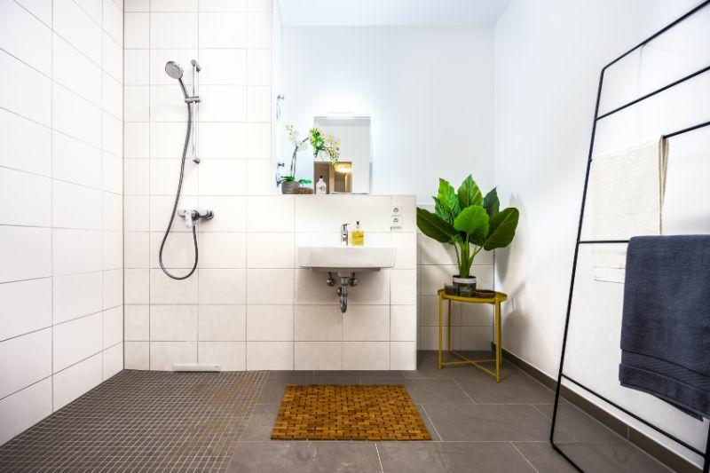 Badezimmer Variante Dusche
